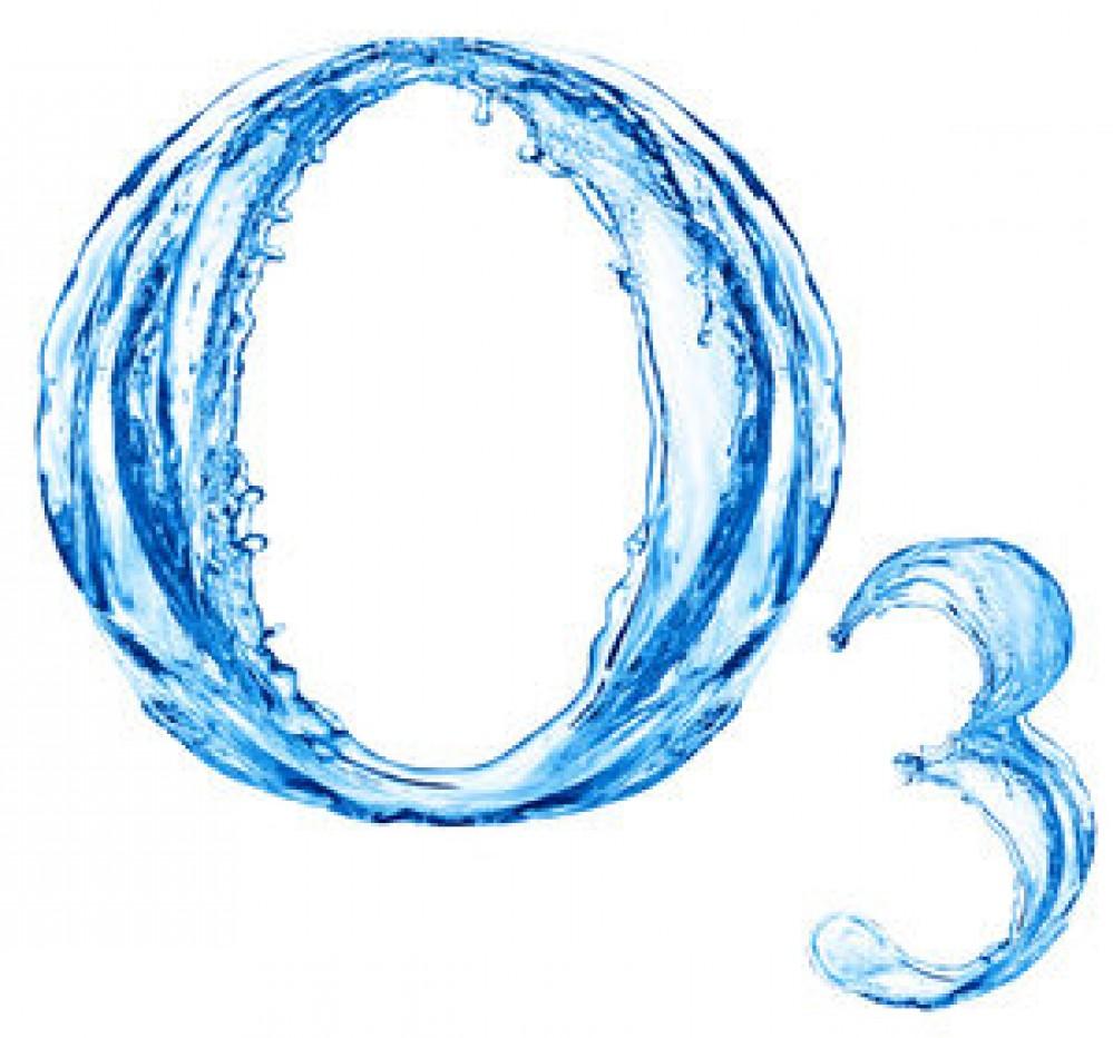 Logo sanificazione con ozono