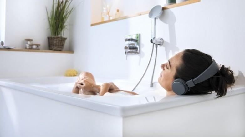 bagno con acqua riscaldata grazie ad un prodotto vaillant