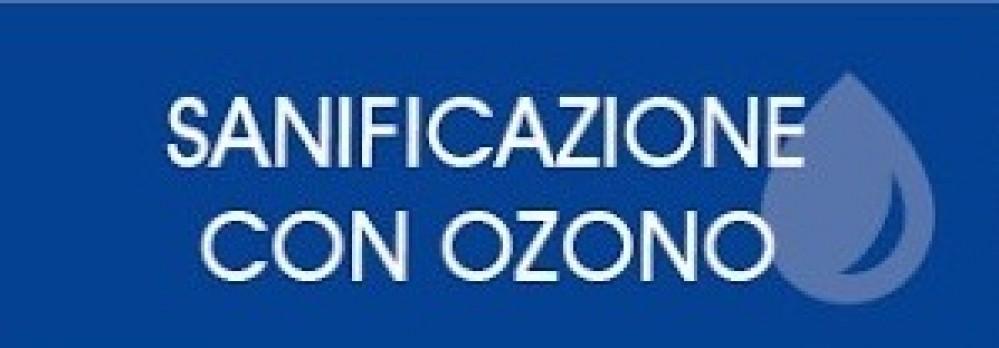 Banner sanificazione con ozono