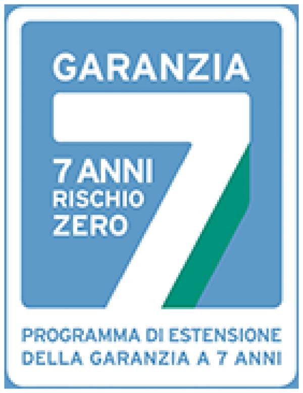 Garanzia 7 anni rischio zero